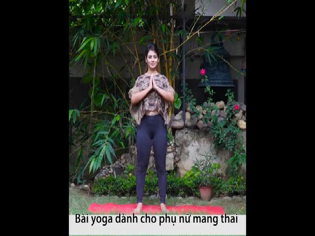 Yoga cho mẹ bầu