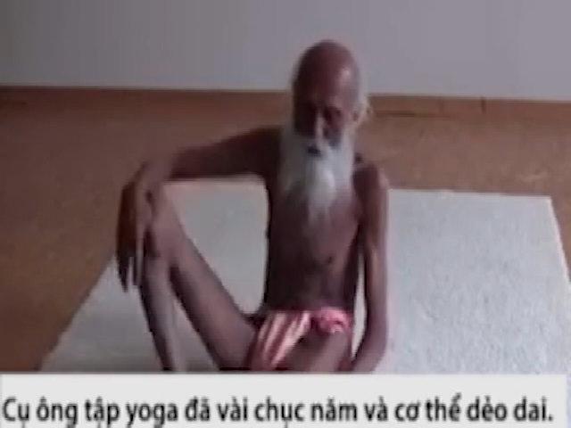 Cụ ông 104 tuổi uốn dẻo