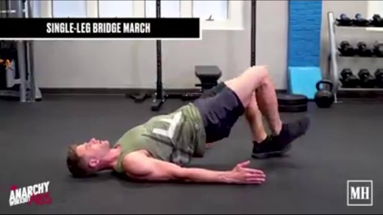 Bài tập cho phần mông và hông nam giới chắc khỏe