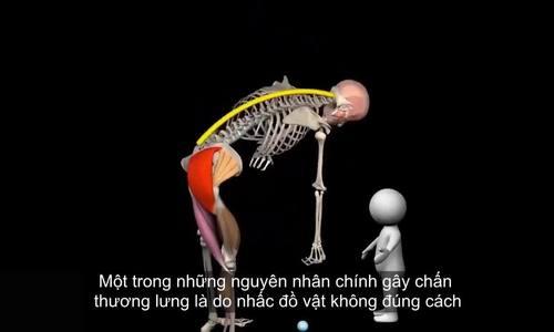 Video chỉ ra tư thế sai của mọi người khi nâng đồ vật