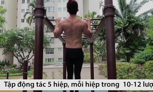 Tự tập luyện tại nhà cho body chắc khỏe không cần đến gym