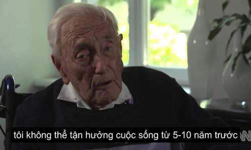 Chia sẻ trước giờ ra đi của tiến sĩ 104 tuổi