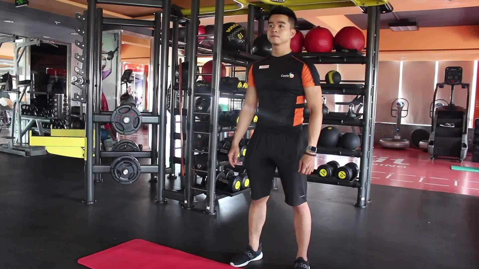 Giảm mỡ toàn thân hiệu quả chỉ với 4 động tác đơn giản