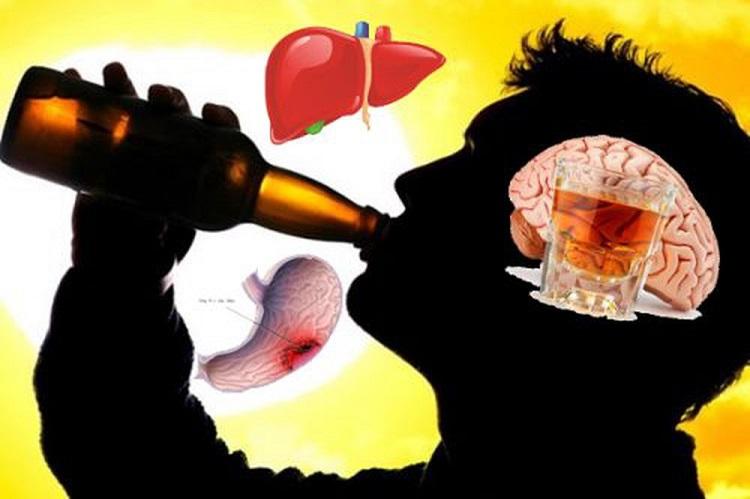 Rượu bia là thủ phạm gây 7 loại ung thư và 200 bệnh