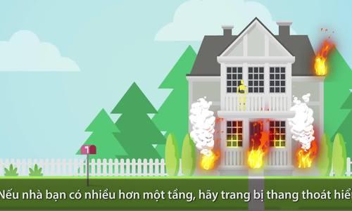 Bí kíp sống sót khi cháy nhà