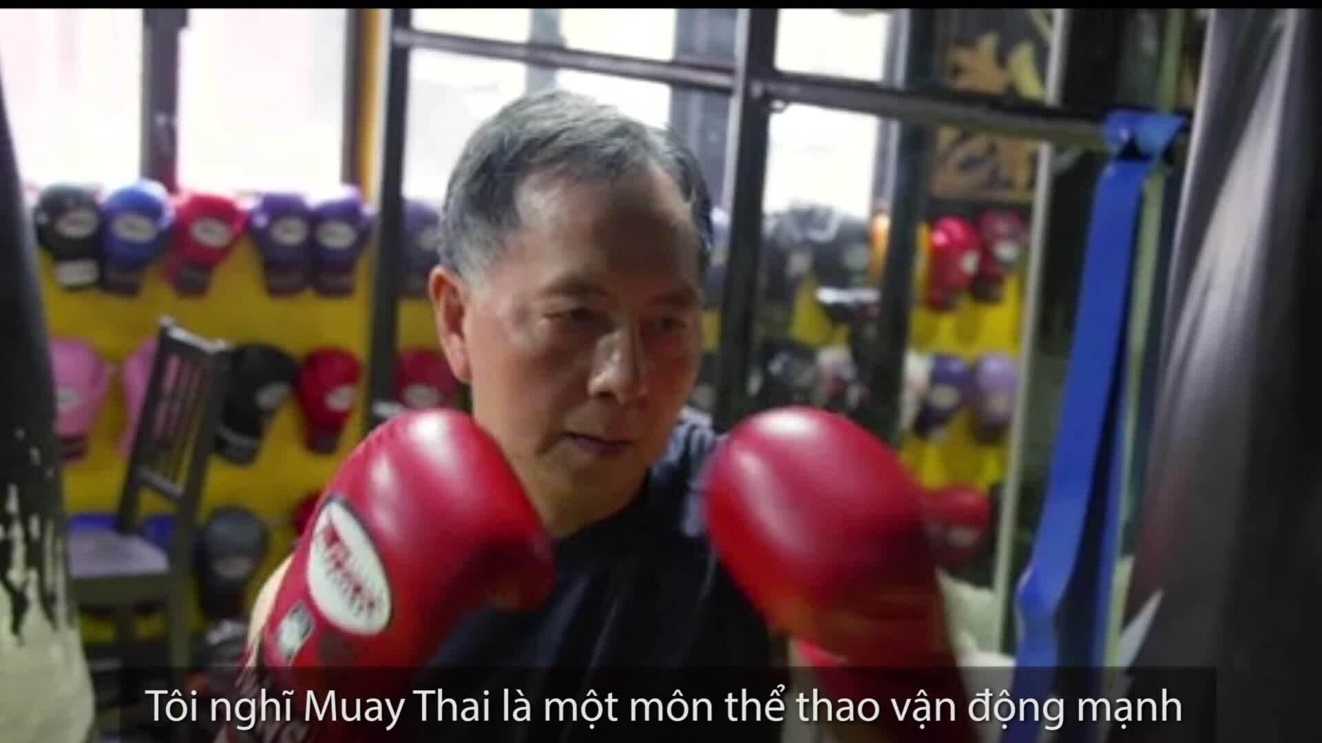 Lớp học Muay Thái giúp bệnh nhân Parkinson hồi phục