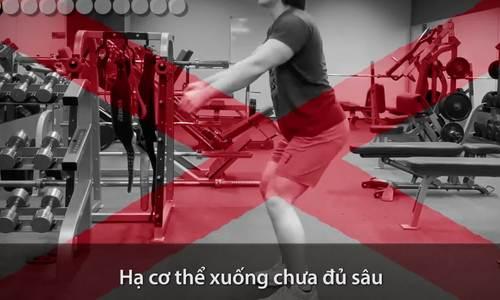 Những lỗi sai thường gặp khi squat