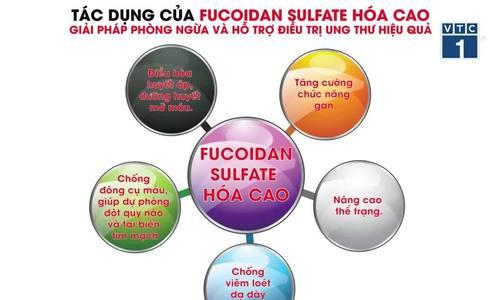 Công dụng của hoạt chất Fucoidan sulfate