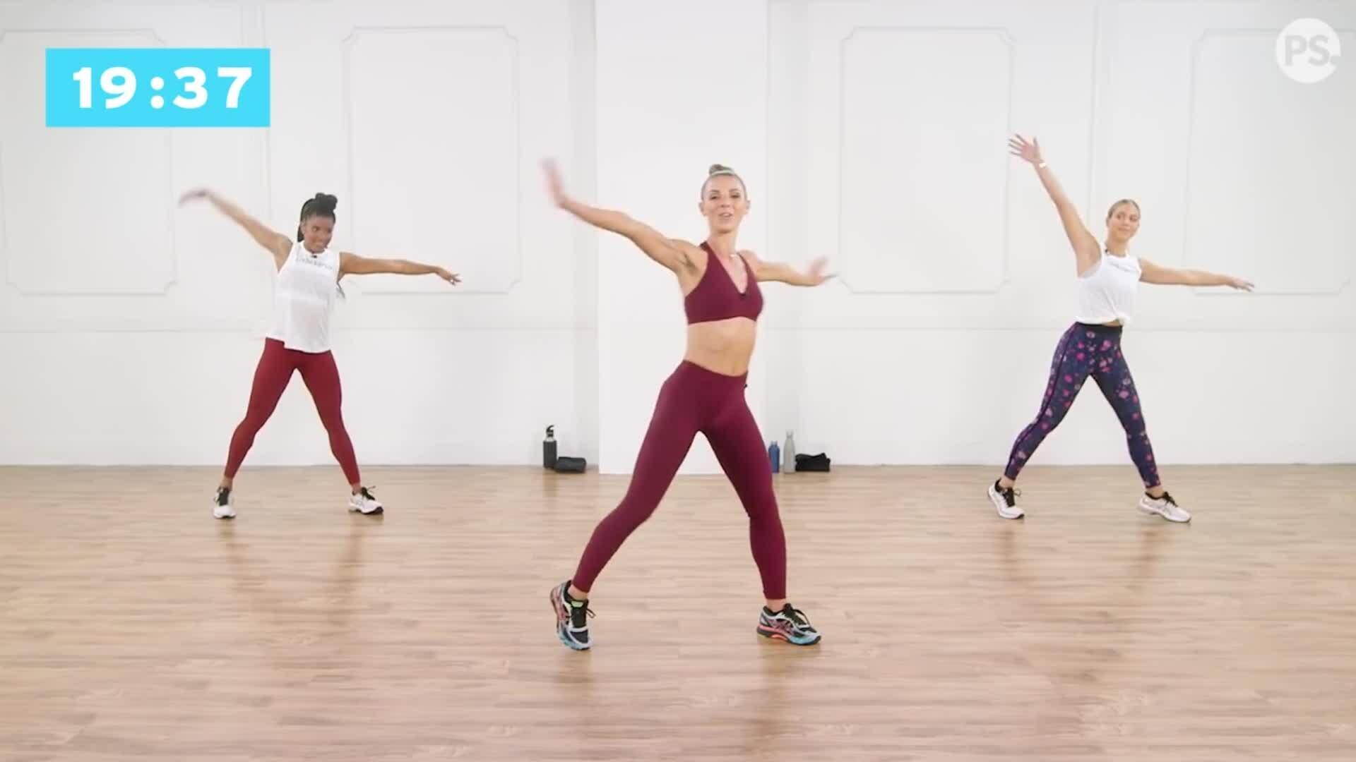 10 phút nhảy cardio để đốt mỡ bụng