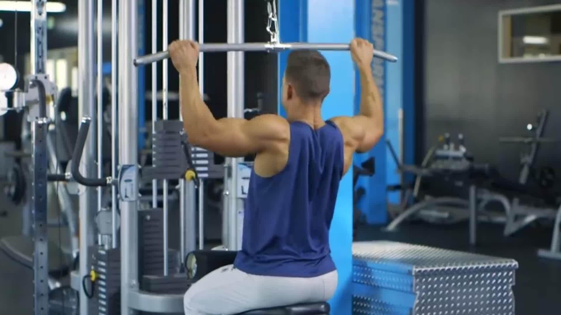 10 bài tập cường độ cao cho cơ lưng cuồn cuộn