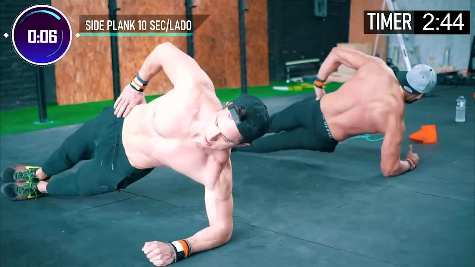 Bài tập Tabata giúp quý ông có cơ bụng 6 múi