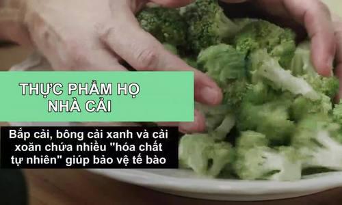 Thực phẩm nguồn gốc thực vật giúp chống ung thư