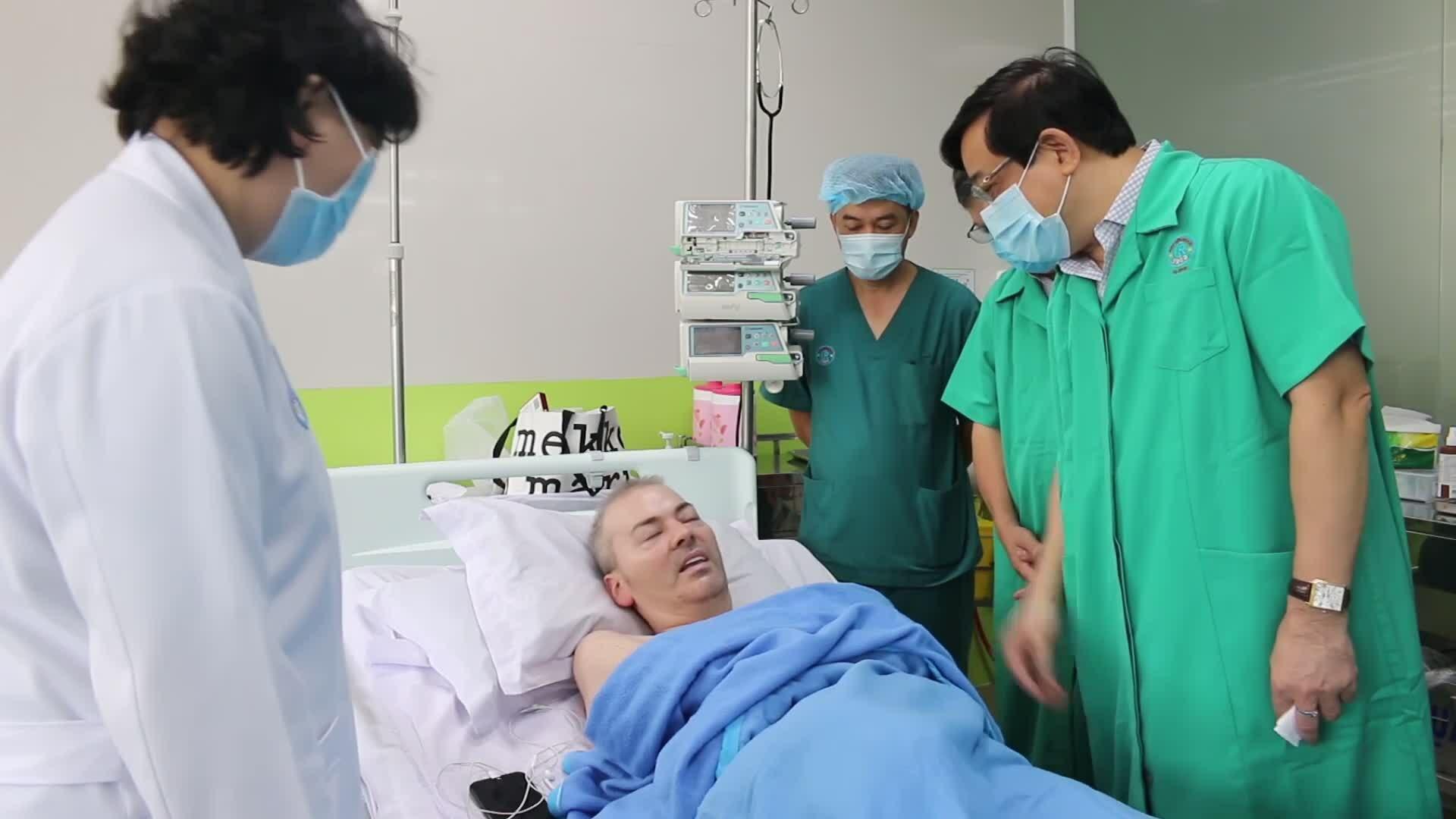 Bệnh nhân phi công: 'Người Việt Nam tuyệt vời'