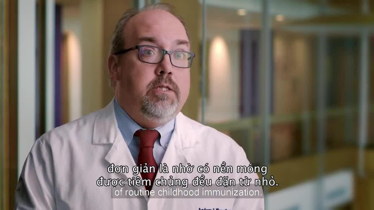 Tầm quan trọng của việc tiêm vaccine