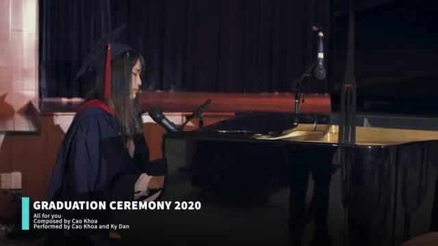 Nữ sinh trường Quốc tế BVIS sáng tác ca khúc tri ân thầy cô