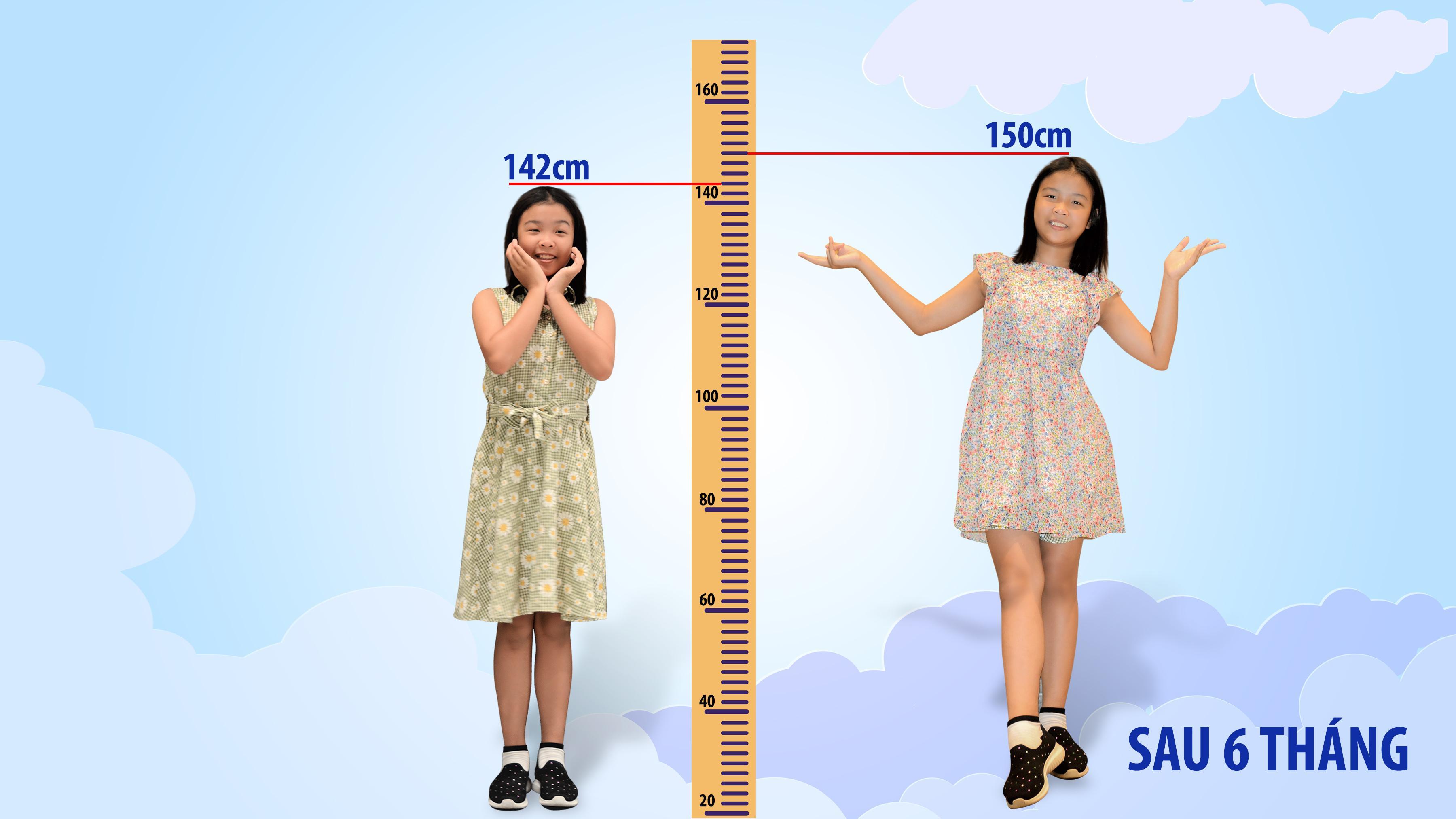 Bí quyết cải thiện chiều cao của bé 10 tuổi