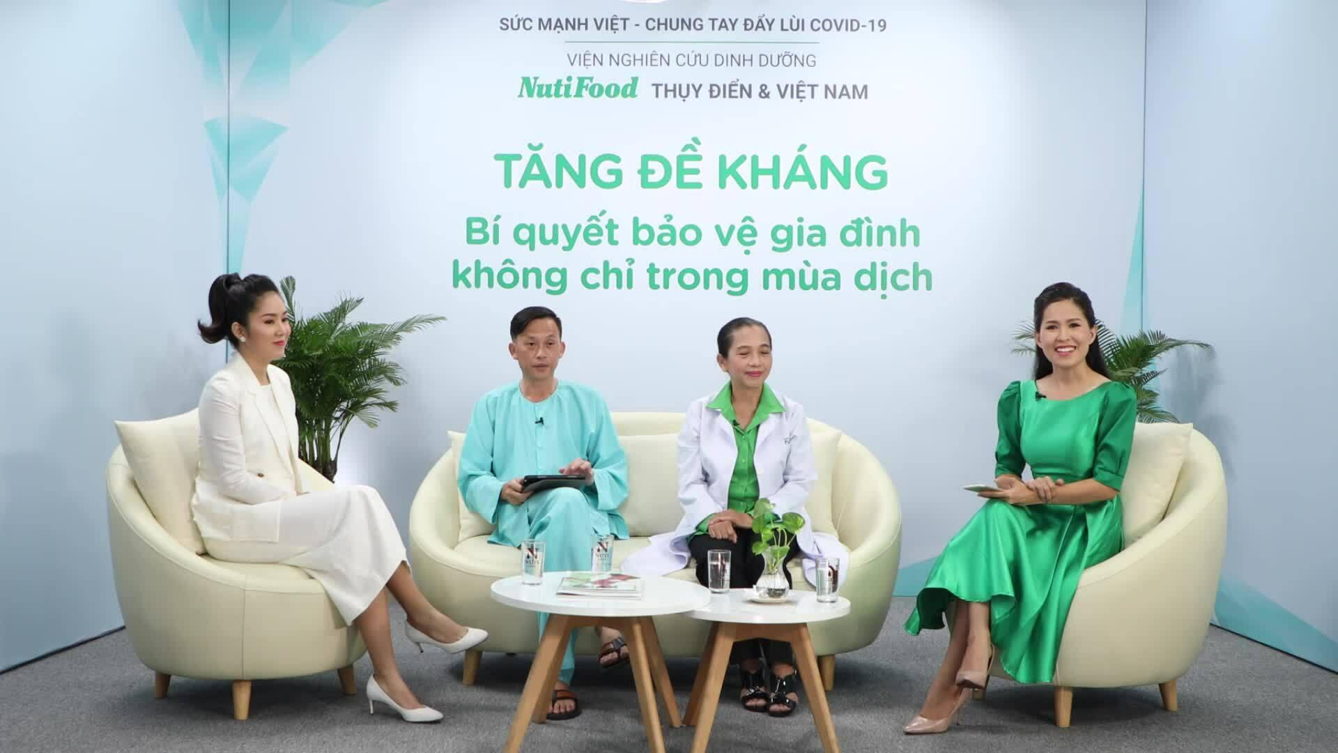 Hoài Linh, Lê Phương tìm hiểu cách tăng đề kháng