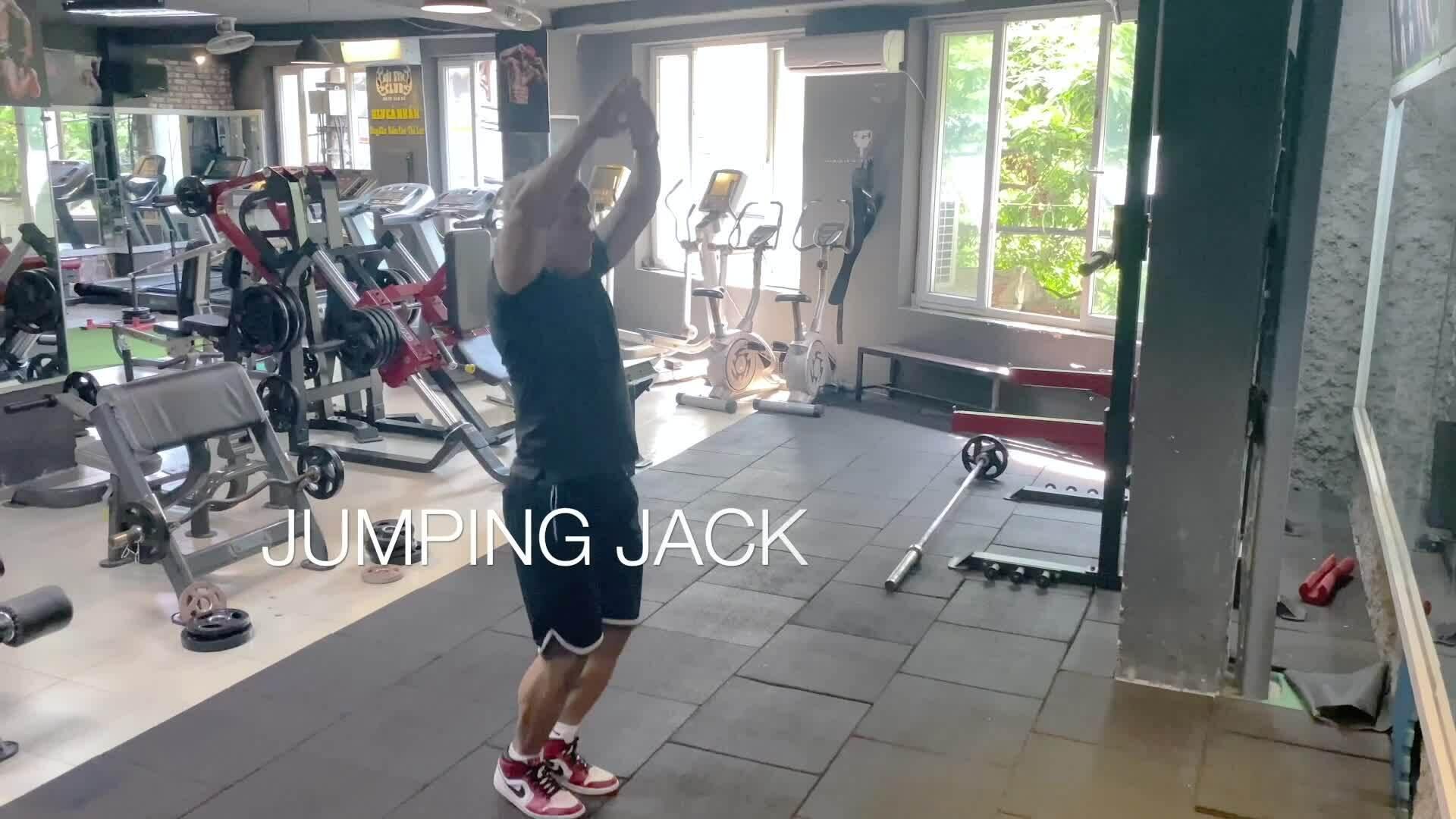 Xây dựng cơ bắp với 5 phút tập Tabata mỗi ngày