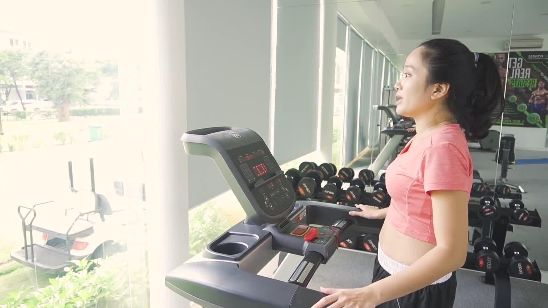 Cách chạy bộ trên máy