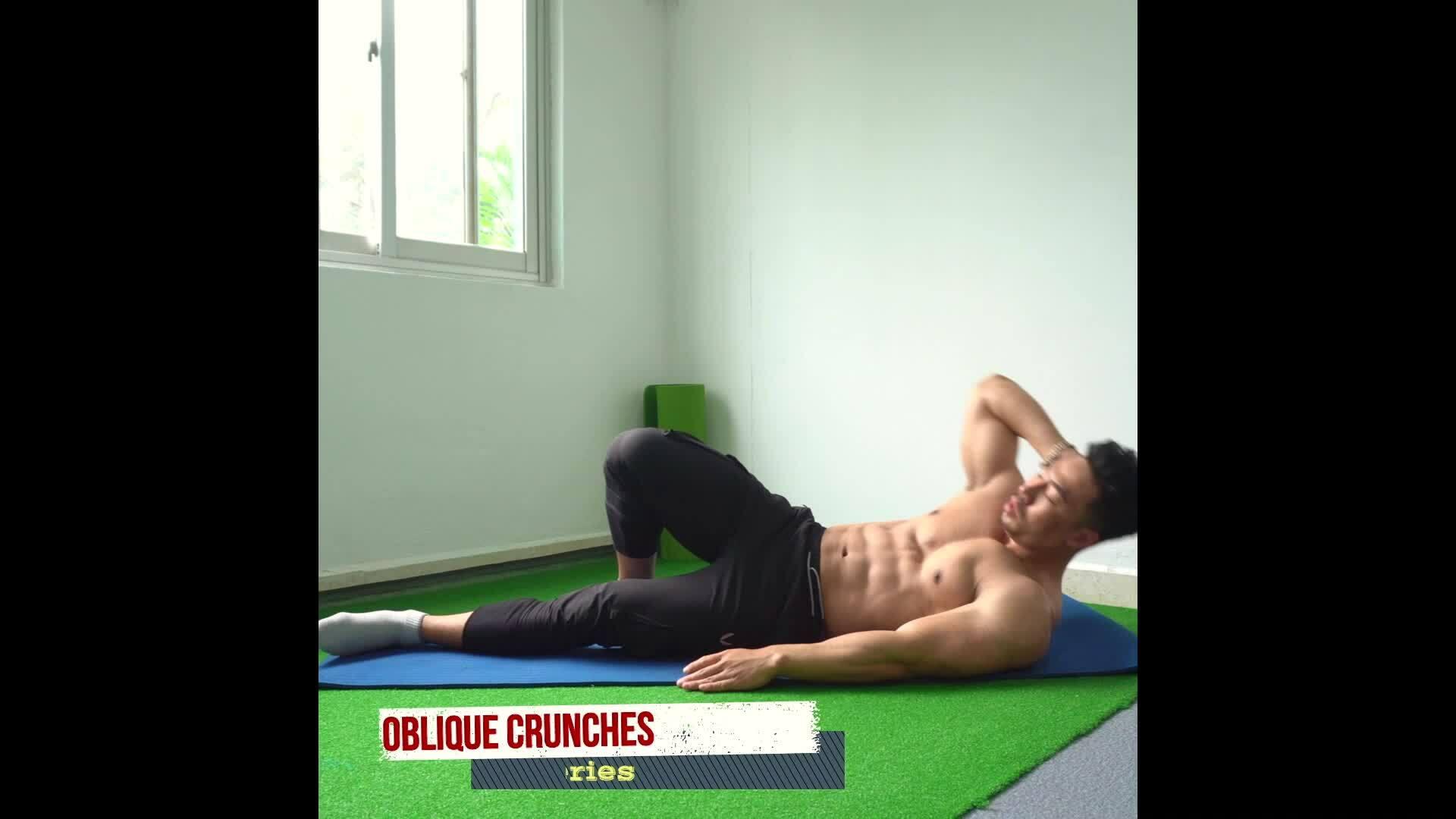 Bài tập lấy lại cơ bụng 6 múi sau tết
