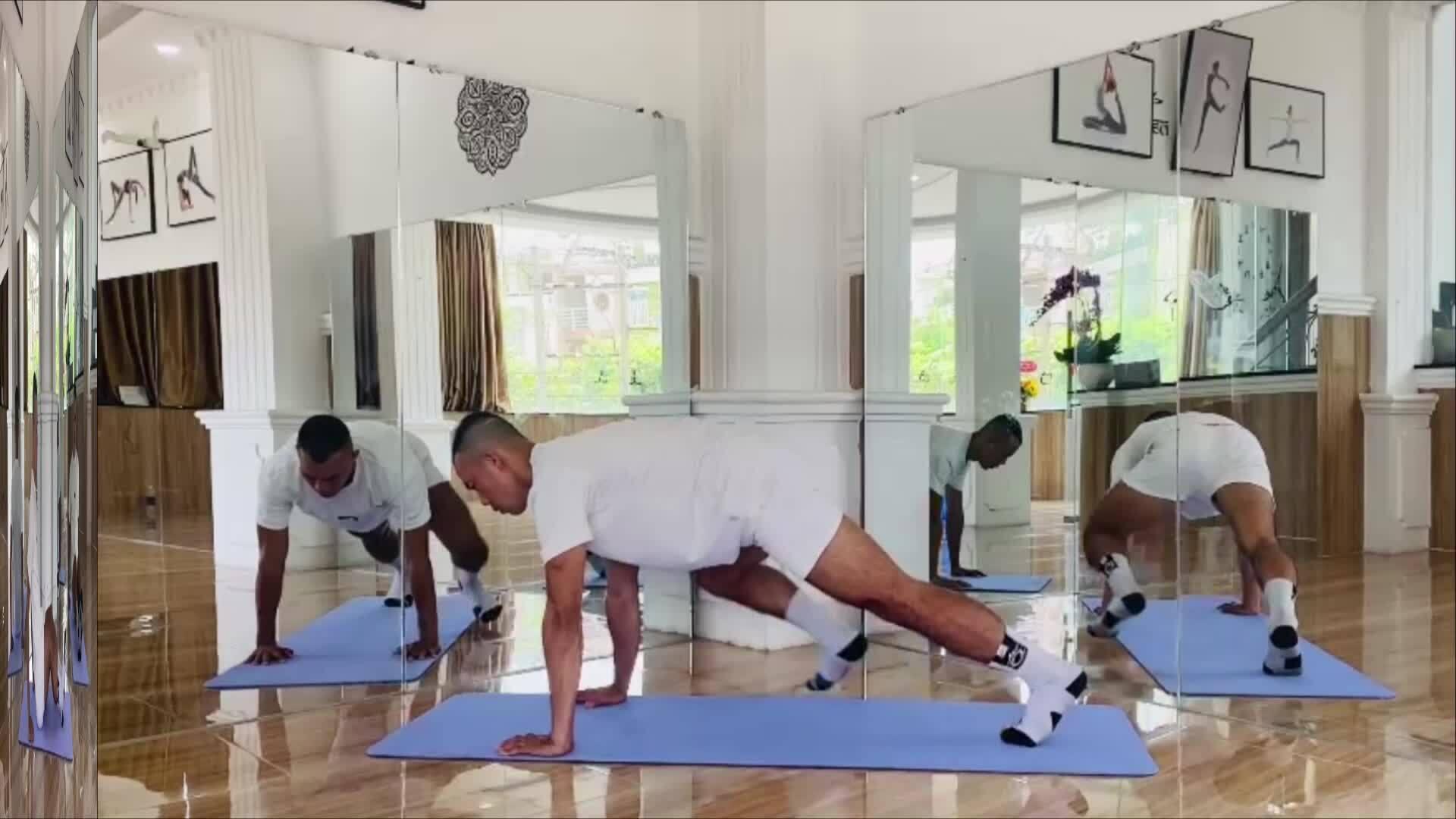 Bài tập luyện cơ bụng 6 múi cho quý ông