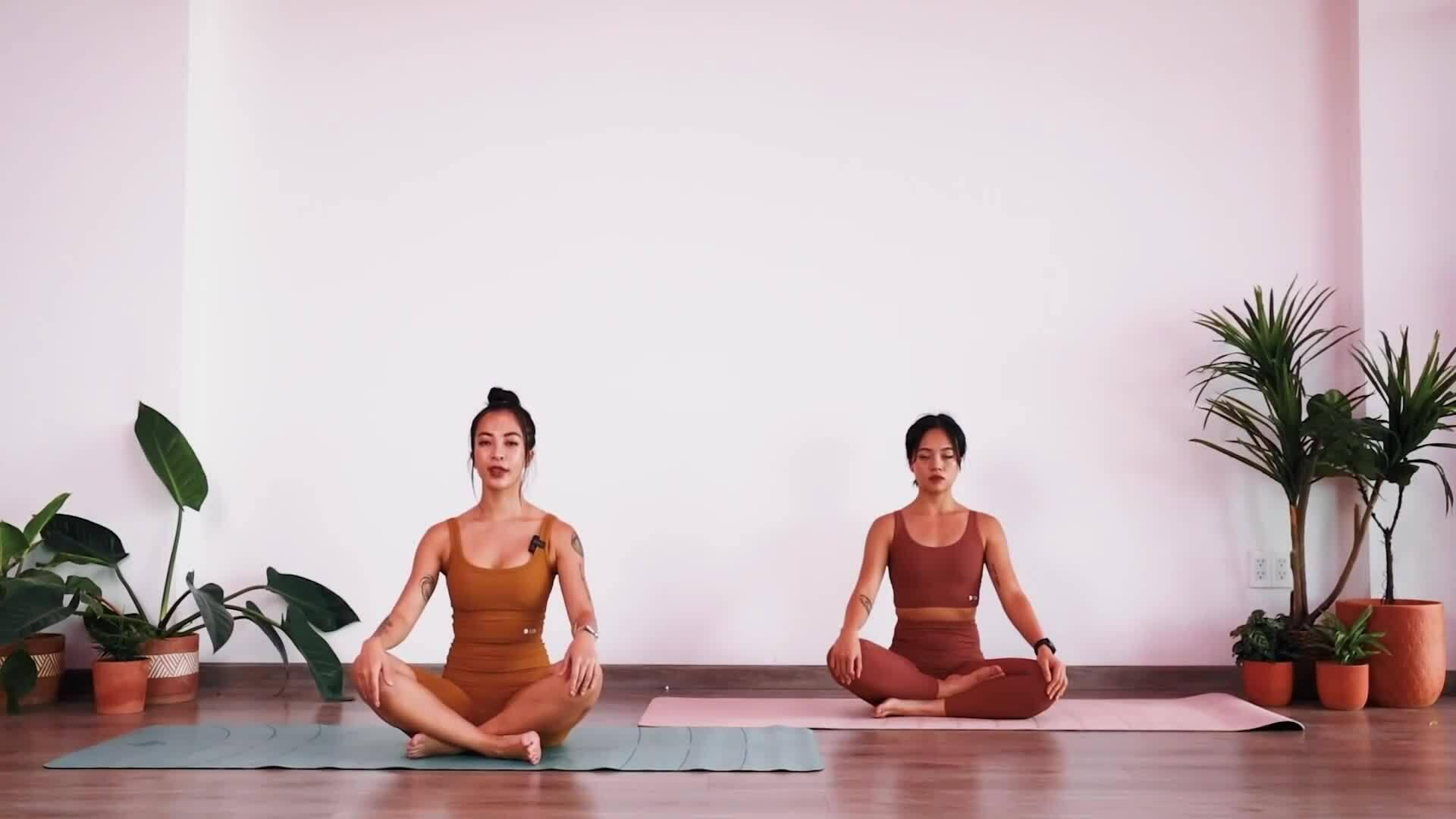 Bài tập yoga và cách thở giúp phổi khỏe