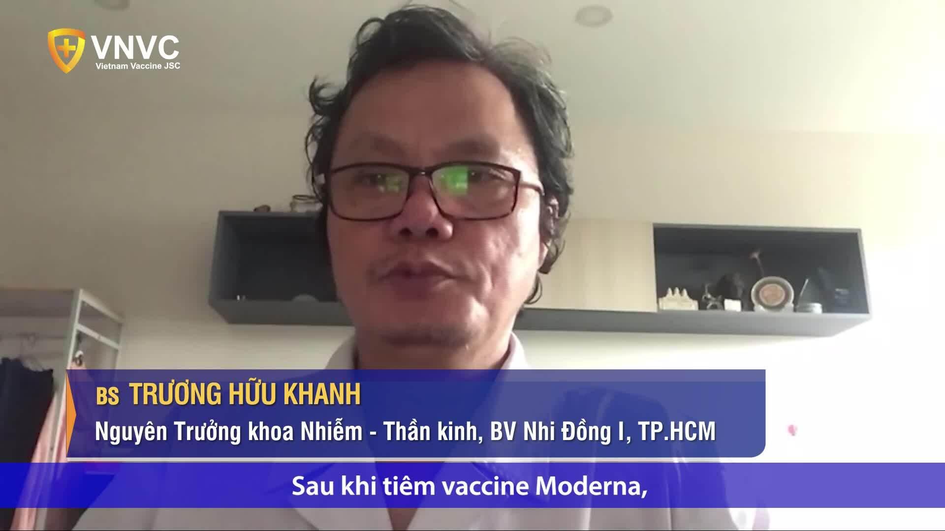 Người tiêm mũi 1 vaccine Moderna thì mũi 2 tiêm được vaccine nào?