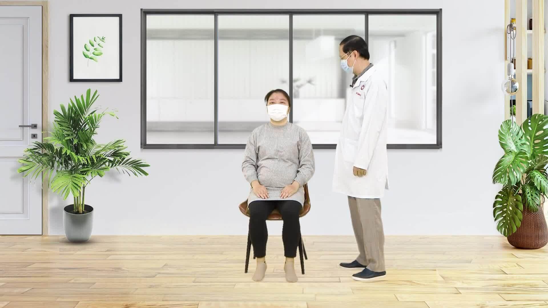 Bài tập thở hỗ trợ hô hấp cho phụ nữ mang thai trong Covid-19