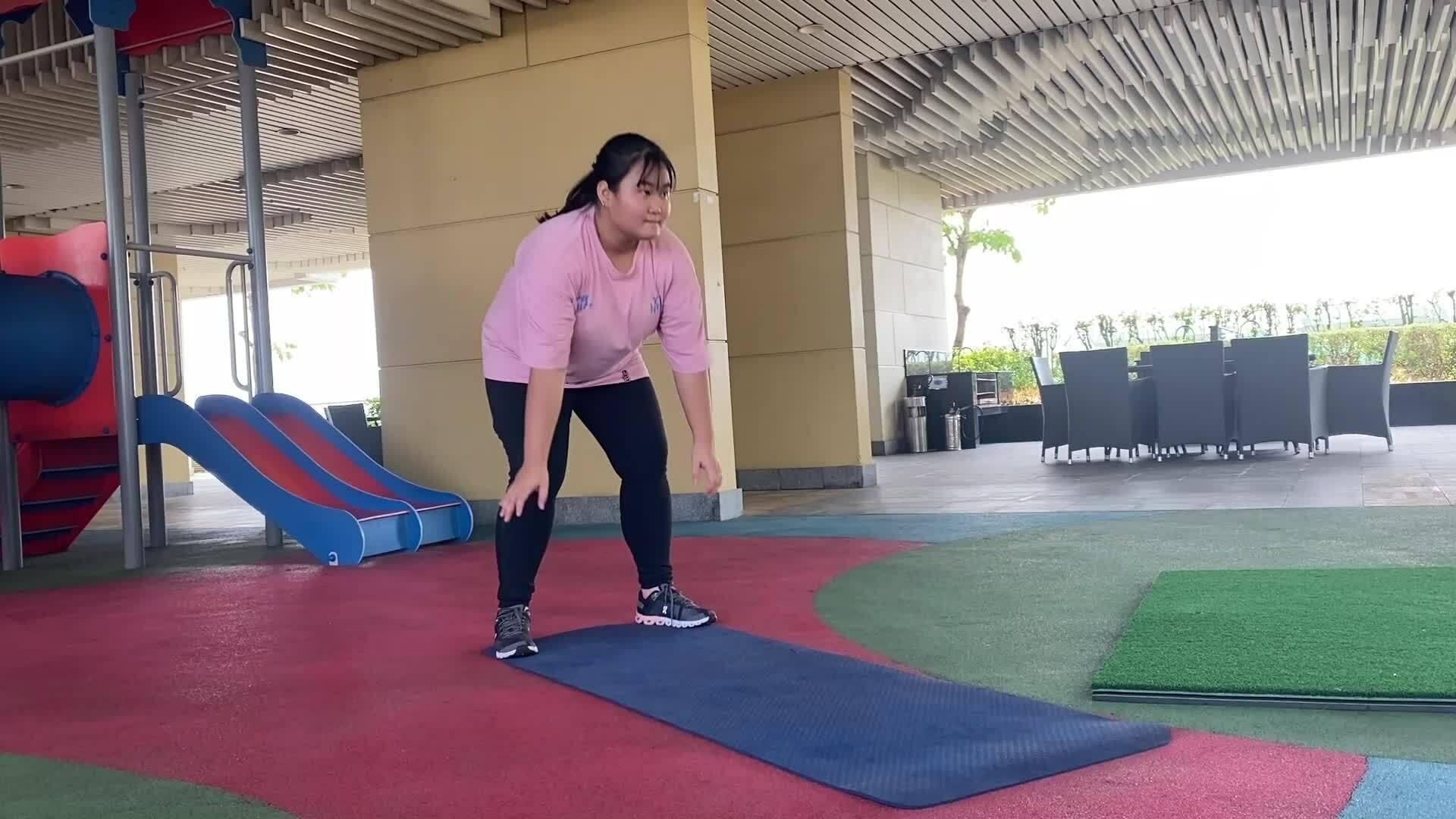 7 bài tập giảm mỡ cho người thừa cân