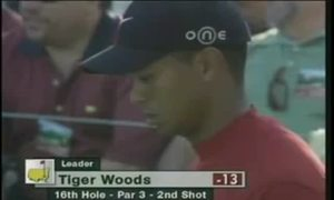 Tiger Woods - Masters 2005
