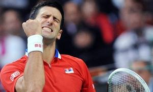 Djokovic giúp đội tuyển Serbia thắng trận đầu tại CK Davis Cup