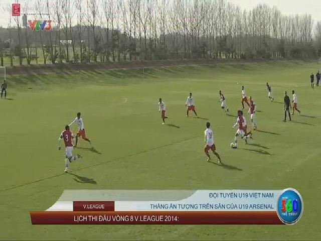 U19 Arsenal 0-3 U19 Việt Nam: Cú đúp của Công Phượng