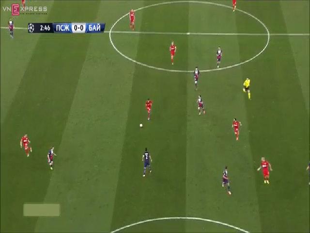 PSG 2-1 Leverkusen: Vé vào tứ kết