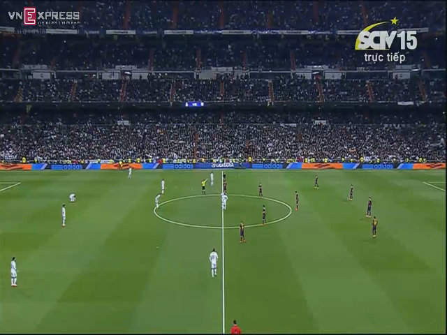Real 3-4 Barca: Messi lập hat-trick