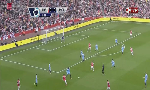 Arsenal 1-1 Man City