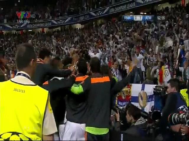 Sergio Ramos ghi bàn cân bằng tỷ số cho Real