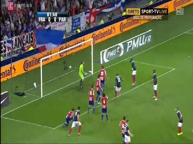Pháp 1-1 Paraguay