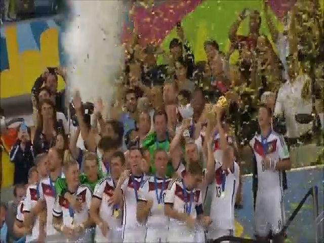 Lễ đăng quang World Cup 2014