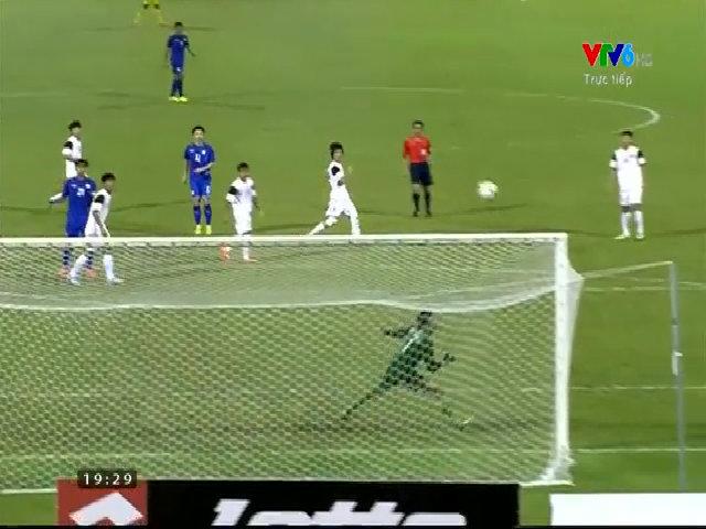 U19 Việt Nam 1-0 U19 Thái Lan