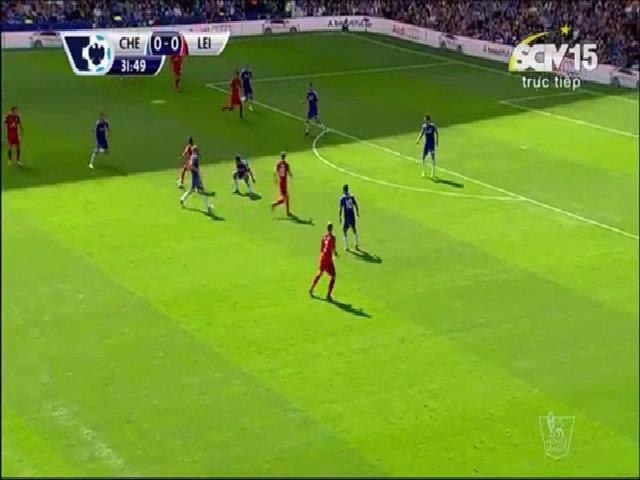 Courtois cứu thua cho Chelsea