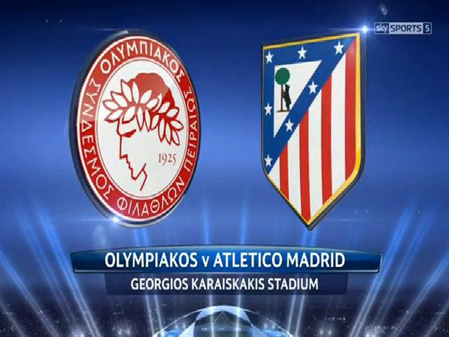 Olympiakos 2-3 Atletico