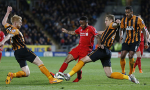 Hull City 1-0 Liverpool