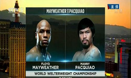 Mayweather giành chiến thắng trước Pacquiao trong trận so găng kinh điển