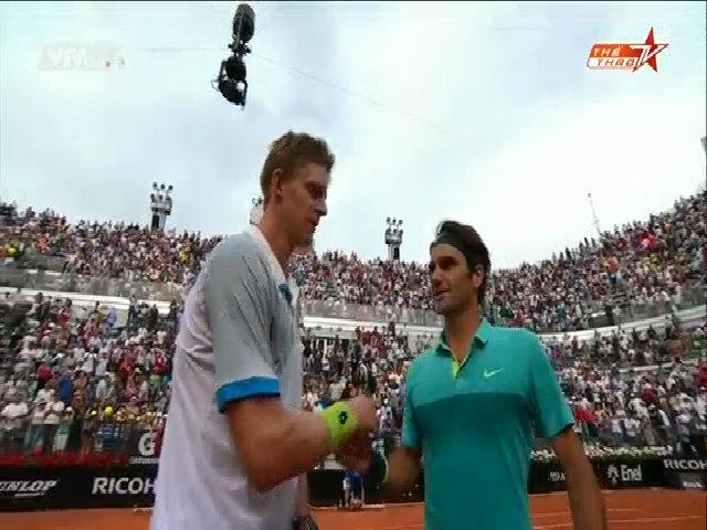 Kevin Anderson 0-2 Roger Federer