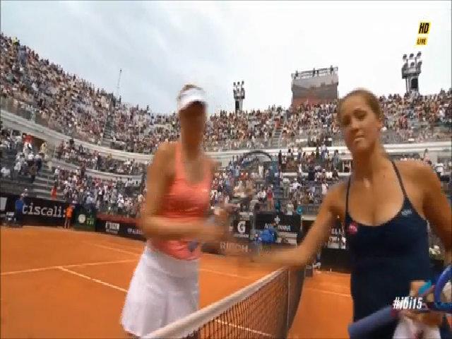 Maria Sharapova 2-0 Bojana Jovanovski