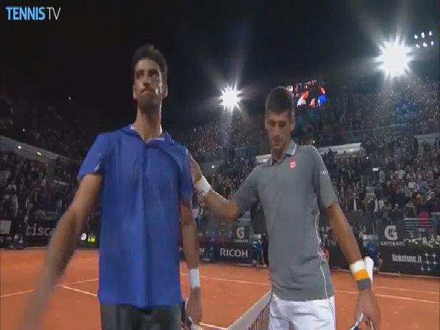 Novak Djokovic 2-1 Thomaz Bellucci