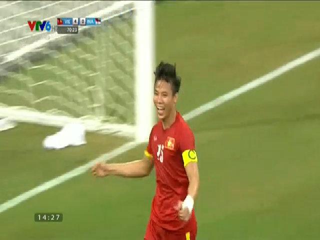 U23 Việt Nam 5-0 U23 Indonesia