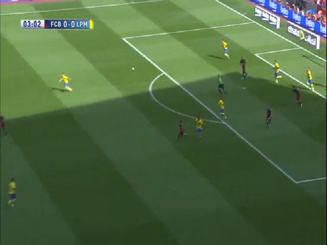 Barcelona2-1 Las Palmas