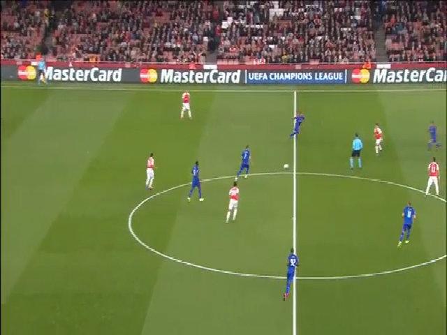 Arsenal 2-3 Olympiakos