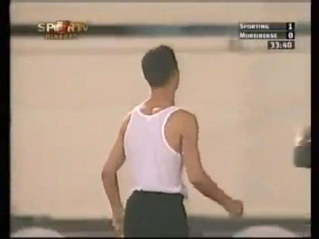 Bàn thắng đầu tiên trong sự nghiệp Ronaldo